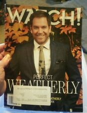 CBS WATCH! MAGAZINE  - Nov/Dec 2017 - Perfect Weatherly Cover - Shemar Moore