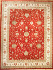 Hand-knotted Rug (Carpet) 9'7X12'7, Agra mint condition