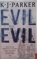 Evil for Evil by K. J. Parker FREE AUS POST good used condition paperback 2006