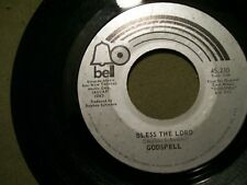 GODSPELL 45 RECORD DAY BY DAY & BLESS THE LORD BELL RECORDS 45 210