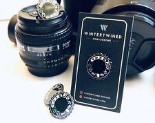 NEW Hard Enamel Pin Black DSLR Nikon Camera Mode Setting Dial Limited Edition