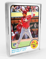 2018 Topps TBT #61 Shohei Ohtani Rookie RC ONLY from Set 11 Int'l Signings 1973