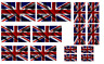 1:35 British flags on cotton canvas / cotton peel model/diorama military set 3