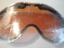 Spy + Omega Replacement Snow Goggle Lens Perss w Lt Sil Mir lens New Ships Free