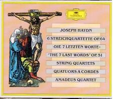 Haydn: 6 Quartetti Per Archi Op 64, Op.51 Le Ultime Parole / Amadeus Quartet CD