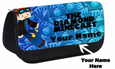 Personalised DAN TDM You Tuber Custom Pencil Case Make Up Bag Gift Idea