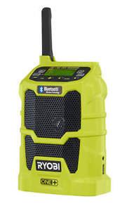 Ryobi Akku-Radio ONE+ 18V perfekt als Baustellenradio Camping Bluetooth USB NEU