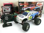 Traxxas Nitro Stampede Monster Truck Custom Body, Radio, Charger, Toolbox, Parts