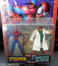 Marvel (leyendas) Spider-man Vs Doctor Octopus ¡ Nuevo! Raro! 2-pack.