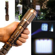 CREE XML T6 Zoom 10000 Lumen LED 18650 Flashlight Focus Torch Zoom Lamp Light