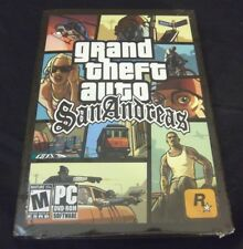 "Grand Theft Auto: San Andreas  (PC, 2005)  1st Release ""M"" Rated soonafter ""AO"""
