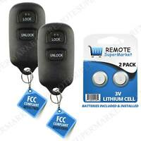 Replacement for Toyota 1995-2004 Tacoma 2003-2006 Tundra Remote Car Key Fob Pair