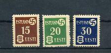 WWII German / Estonian SUPER RARE with Swastika MNH  REDUCED