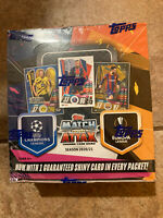 2020-21 Topps UEFA Champions League Match Attax Sealed 30 Pack 180 Card Box