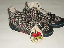 old school NOS mens 8.5 US size Airwalk high top shoes bmx skate bike