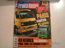 **a France Routes n°199 Actros 1840  Volvo FM 12-420  IAA 1998  Evasion Canada