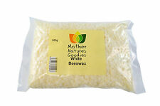 BEESWAX PELLETS 500g Bag Pure White or Yellow Natural