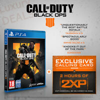 NEW PS4 Call of Duty: Black Ops 4 COD 2018 (HK, Chinese / English)