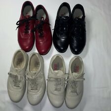 SAS FREE TIME SHOES (4) PAIR SIZE 9M WITH A  LIFT OF 3/8in. TO THE RIGHT SHOE
