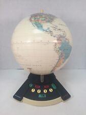 GeoSafari World Exploratoy Interactive Talking Globe 6460 Tan 1997 #2