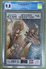 Amazing Spider-Man #4 (Original Sin), CGC 9.8 1st app of Cindy Moon as Silk