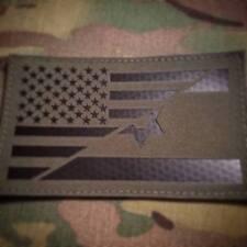 Ranger Green IR US/ISR Combo flag