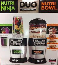 BRAND NEW  Nutri Ninja Nutri Bowl Duo with Auto-iQ Boost