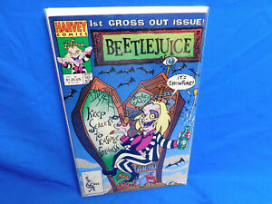 Harvey Comics Beetlejuice #1 1st Gross Out Issue! VF