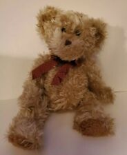 Russ Bears from the Past Radcliffe Teddy Bear Tan Brown Feet Soft Cuddly Tag