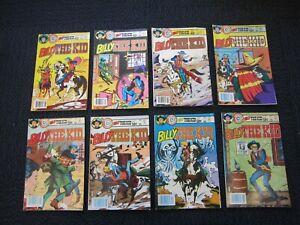 Billy The Kid comic lot - Bill Black western art