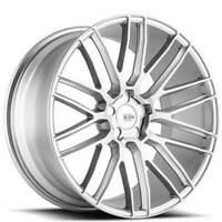 "4ea 22"" Staggered Savini Wheels BM13 Brushed Silver Rims (S11)"
