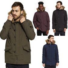 Brave Soul Winter Regular Size Coats & Jackets for Men