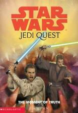 Star Wars Jedi Quest 7 The Moment of Truth Jude Watson 2003 Near Fine Cond