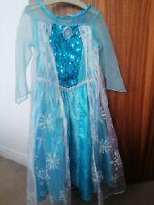 Girls Disney Elsa Dress Age 4/5