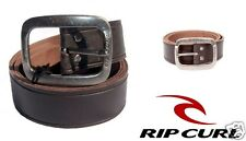 Rip Curl Glance Leather Mens Belt Size Small Brown Surf Wear Accessories New