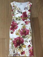 Karen Millen fitted floral dress size UK 10