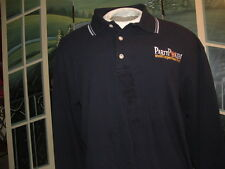 PARTY POKER.COM(Worlds Largest Poker Room)LG.SLEEVE GOLF POLO SHIRT(Fit-Dry)LG.