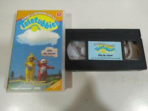 Teletubbies¡ Dia de Snow! BBC - VHS Tape Spanish - 3T