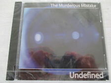 The murderous mistake-undefined-CD NUOVO & OVP NEW & SEALED