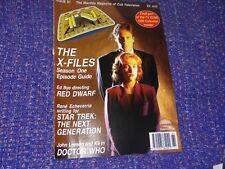 TV Zone Magazine #61 November 1994 *X-Files Cover*