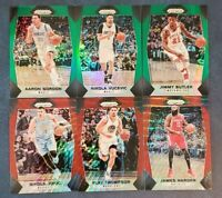 2017-18 Panini Prizm Green Ruby Red Wave Refractors You Pick From List