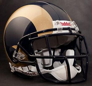 MARSHALL FAULK Edition ST. LOUIS RAMS Riddell AUTHENTIC Football Helmet NFL