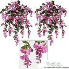 TWO 3' Wisteria Artificial Flower Silk Plant Bush Wedding Arrangement Deco FU