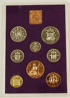 2000 GREAT BRITAIN MILLENNIUM 10 COIN PROOF SET COMPLETE BIN FREE SHIPPING