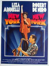 LIZA MINNELLI–ROBERT DE NIRO-NEW YORK, NEW YORK–FRENCH MOVIE POSTER–Gay Interest