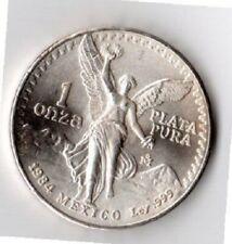 1984 Mexico 1 Onza Silver Libertad - 999 Silver