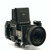 Mamiya RB67 Pro S w/ Sekor C 90mm F3.8 + Motorized 120/220 Film Back 6×8 [TGJ]