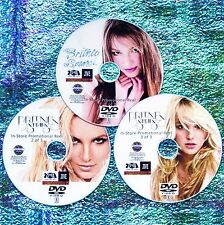 BRITNEY SPEARS In-Store Promo 76 Music Videos & Remix Collection 3 DVD Set