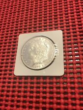 1879-S MORGAN SILVER DOLLAR 3RD REV BRILLIANT UNCIRCULATED WHITE SEMI-PROOF LIKE