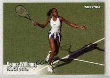 """VENUS WILLIAMS 2003 NETPRO """"1ST PRINTED"""" ROOKIE CARD #99! 23 GRAND SLAM TITLES!"""